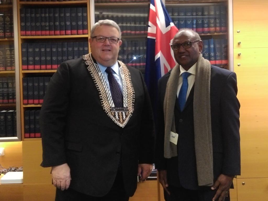 Minister Tozaka Acknowledges New Zealand Assistance to Solomon Islands