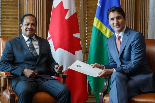 Sisilo meets Prime Minister of Canada