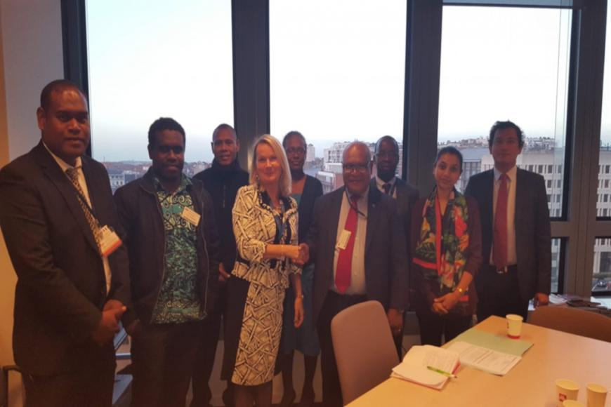 Solomon Islands and EU officials on the conclusion of the technical Market Access Offer negotiations