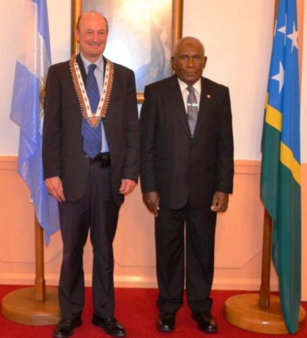 Argentina Ambassador Presents Credentials