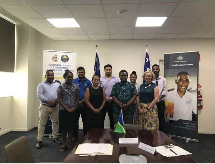 Labour Mobility Unit (LMU) Signs Agreement with the Pacific Labour Facility (PLF)