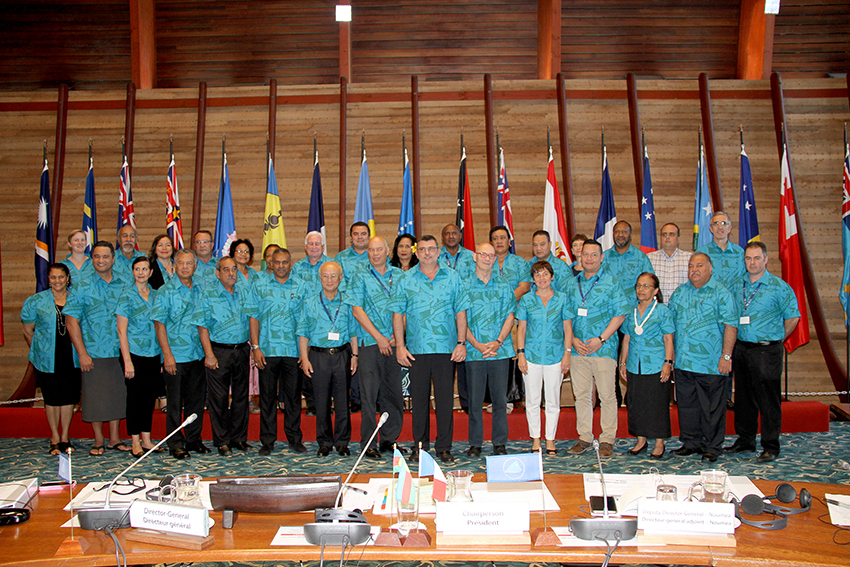 The 10th Pacific Community Conference and the 47th Meeting of the Committee of Representatives of Governments and Administration